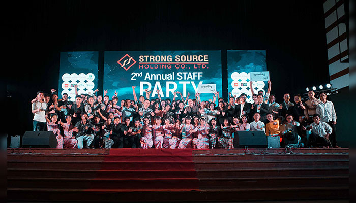 Strong Source Holding Staff Party