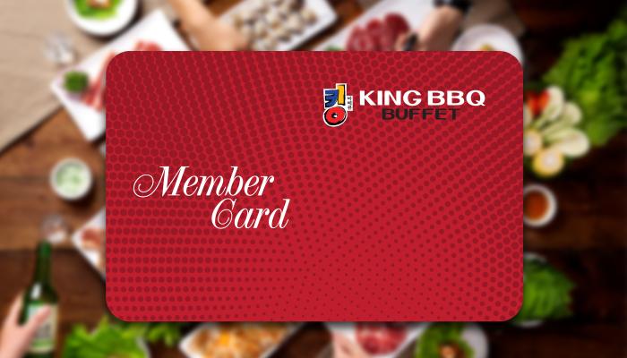 အခြင့္ထူးေတြအမ်ားႀကီးရမယ့္ King BBQ ရဲ႕ Member Card အေၾကာင္း